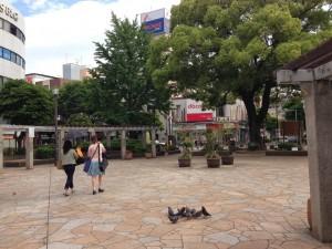 西鉄大橋駅西口広場