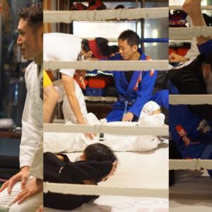 ブラジリアン柔術トレーニング画像