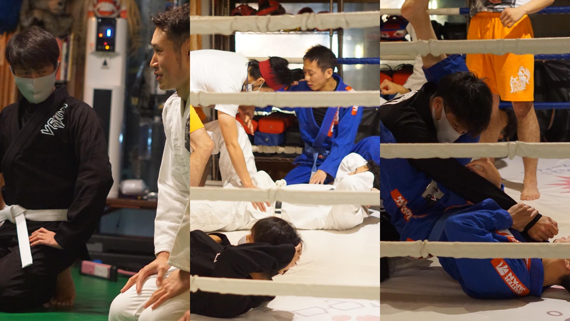ブラジリアン柔術トレーニング